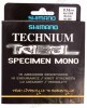 Shimano Technium Tribal Specimen Mono 200mt 0,16mm